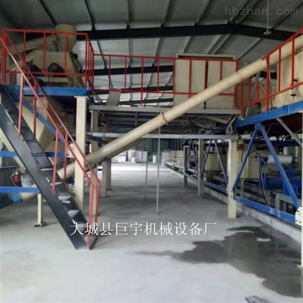 外墙保温结构一体板生产线