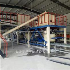 全自动FS免拆复合保温外模板设备生产线