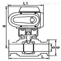 Q981F电动卫生级卡箍球阀