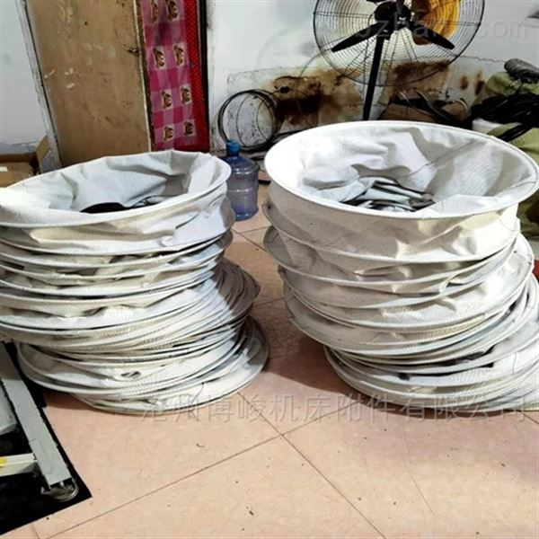 耐磨除尘水泥帆布伸缩布袋产品报价