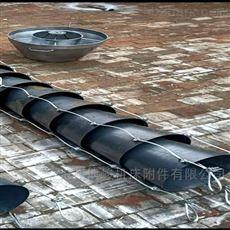 砂浆卸料水泥颗粒输送铁串溜筒厂家
