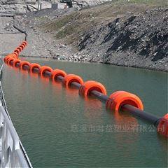 水上管道铺设塑料浮筒