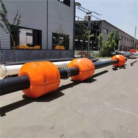 管道浮筒疏浚线水面浮体 1100*1100*400