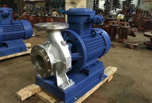 ISWHB不锈钢防爆管道泵|卧式防爆离心泵|管道油泵