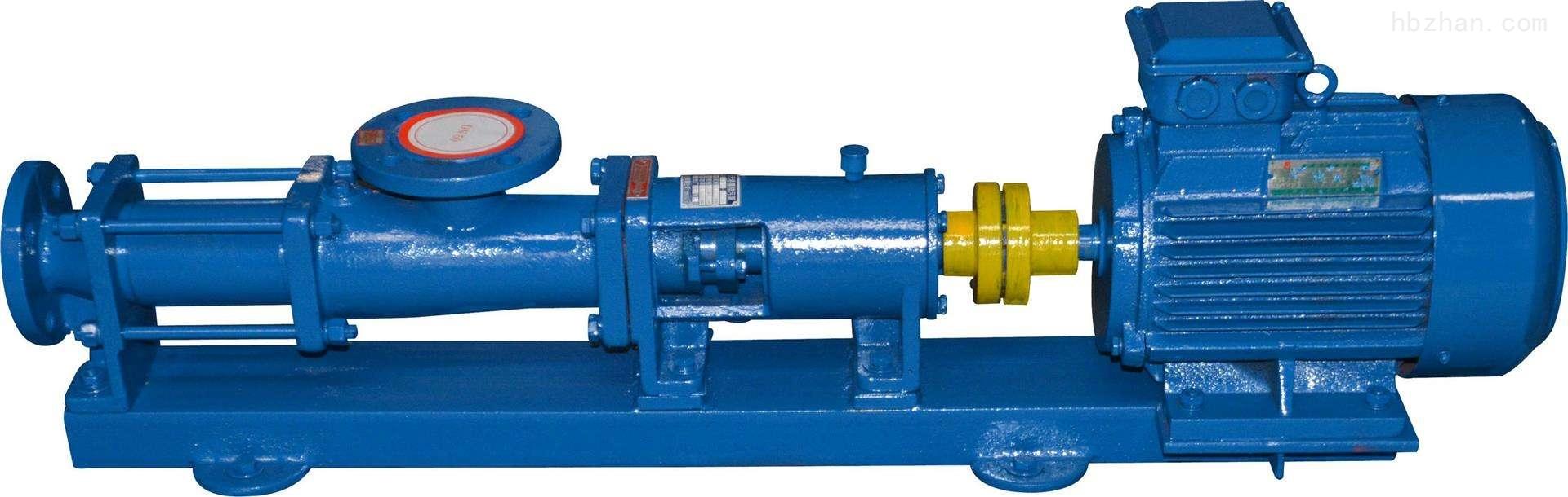 污泥螺杆泵|G型单螺杆泵|不锈钢螺杆泵