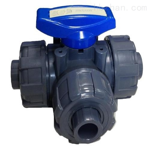 三通承插式塑料球阀