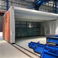 按需设计无锡做可移动式伸缩喷漆房环保设备厂家