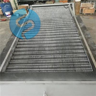 旋转阶梯式细格栅清污机