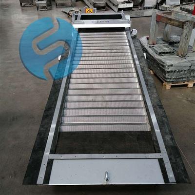 回转阶梯式网板格栅清污机