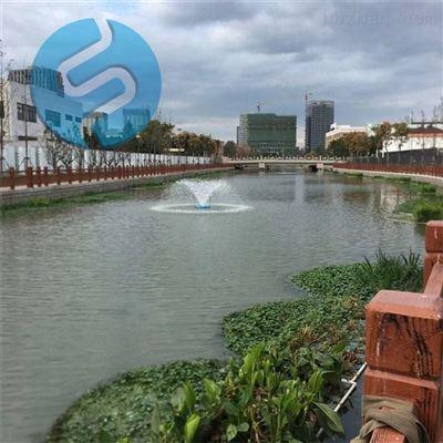 LJ-FTA河道增氧喷泉曝气机实体厂家