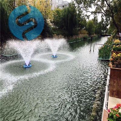 喷泉式曝气机选型