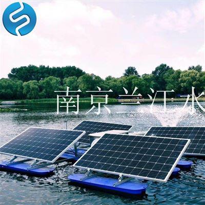 层解式太阳能曝气机