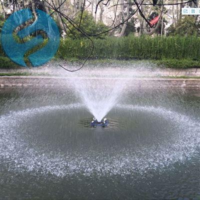 喷泉曝气机如何安装
