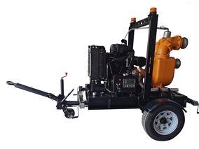 柴油机自吸水泵机组