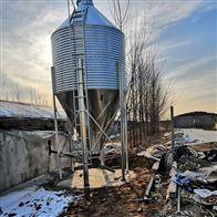 养殖设备镀锌板饲料塔自动化料线