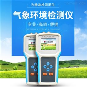 手持式气象检测仪