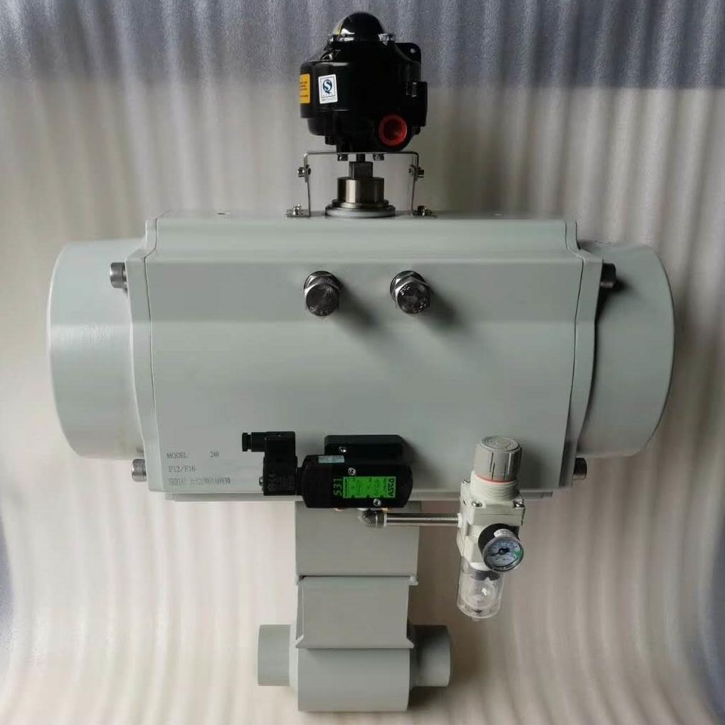 气动球阀Q661Y-PN50MPa