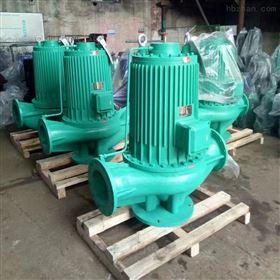 热水屏蔽式管道泵