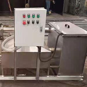HT餐油污水处理不锈钢隔油池生产厂家