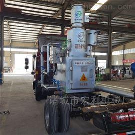 HLPG-20-1废旧油漆渣下脚料垃圾高温热解气化焚烧炉