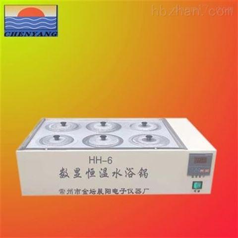 专业生产HH-6双列六孔水浴锅