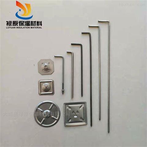 不锈钢保温钉在保温层中如何焊接