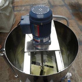药剂溶解工业不锈钢电动耐腐蚀药剂搅拌机KD-50型