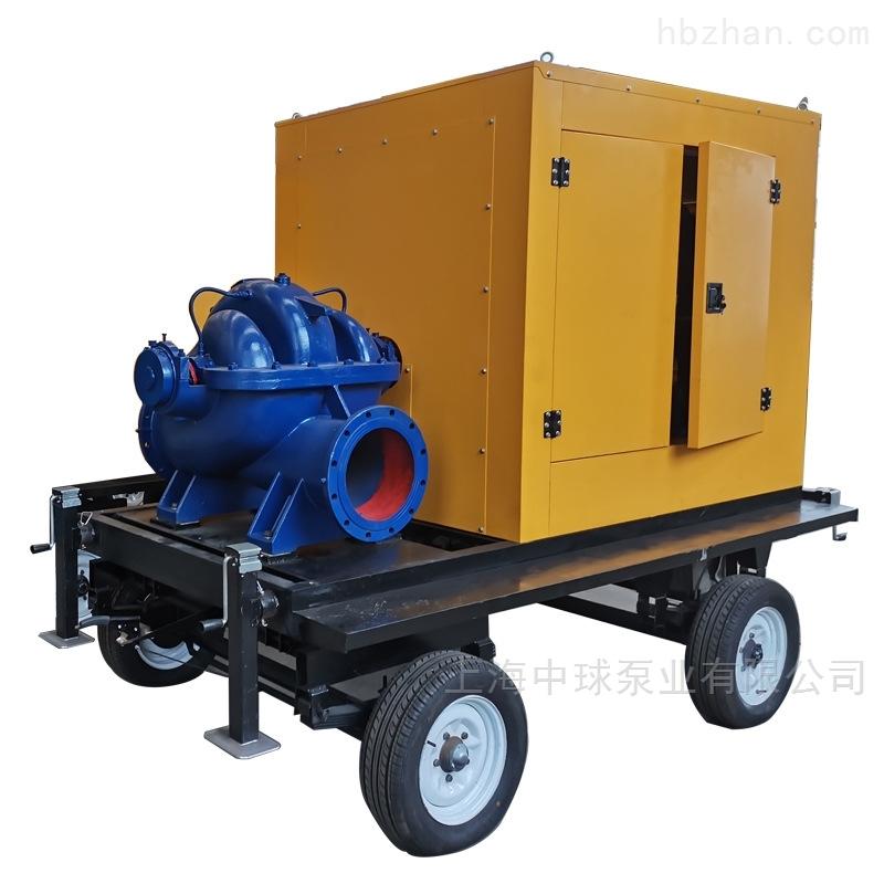 柴油机双吸中开离心泵