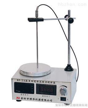 数显测速恒温磁力搅拌器
