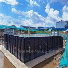 河南地埋式箱泵一体化消防泵站案例