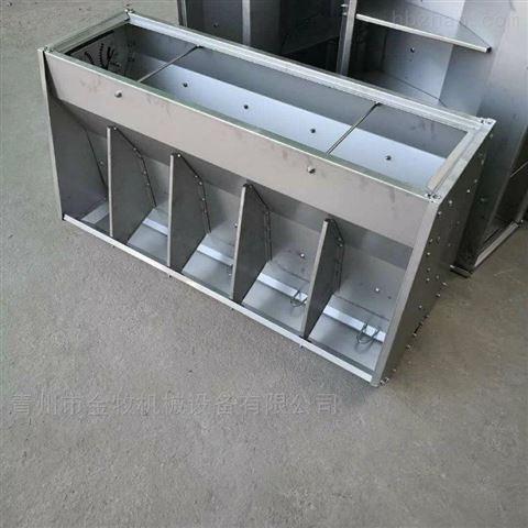 猪舍不锈钢料槽选择方法
