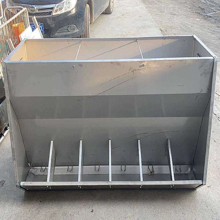 猪用不锈钢食槽-干湿食槽厂家