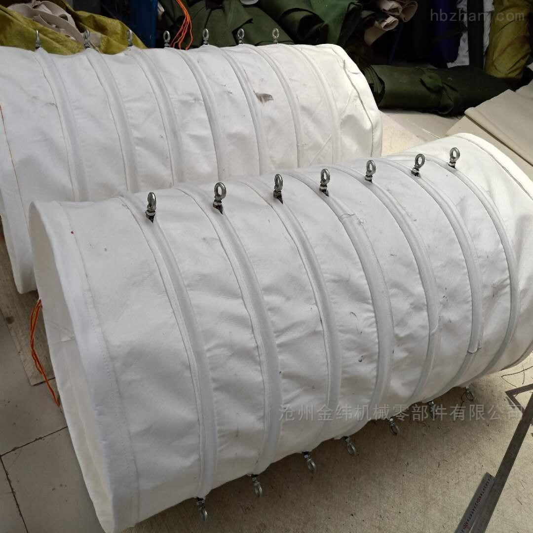 高质量料仓帆布输送伸缩布袋