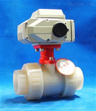 Q961F-10FPVDF电动活接球阀