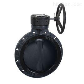 D371F-10S涡轮塑料蝶阀(RPP,UPVC,CPVC,PVDF)