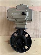 D971X/FUPVC电动蝶阀