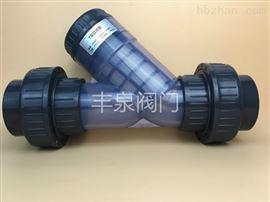 G41X-10UUPVC法兰过滤器(Y型管道过滤器)