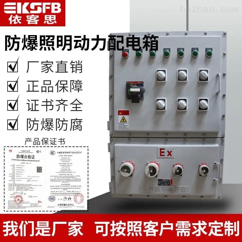 11回路粉尘防爆照明动力配电箱检修箱
