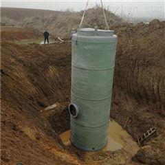 环保节能环境污水排污除臭 一体化预制泵站