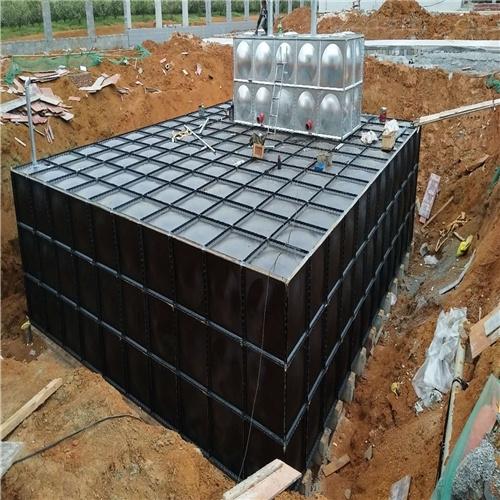 润平供水 生产定制地上绿化 抗浮箱泵一体化