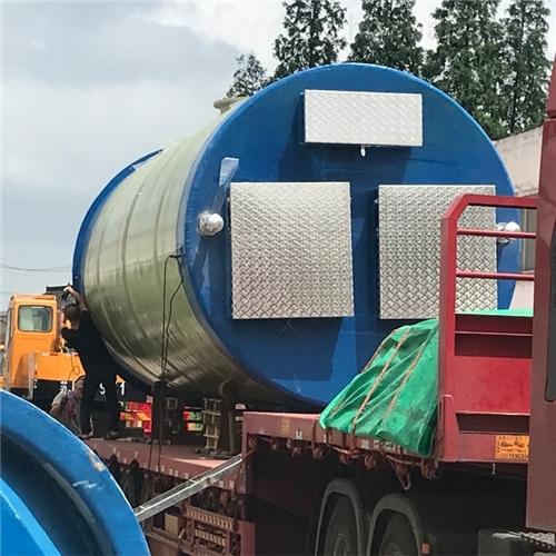 环保玻璃钢防腐污水 一体化预制泵站