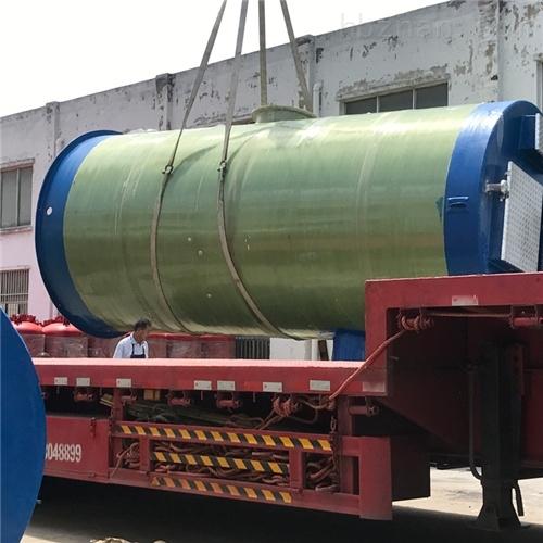 污水河流输送 一体化预制泵站