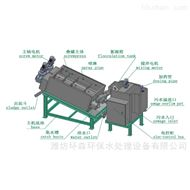 HS-DL叠螺污泥脱水机原理