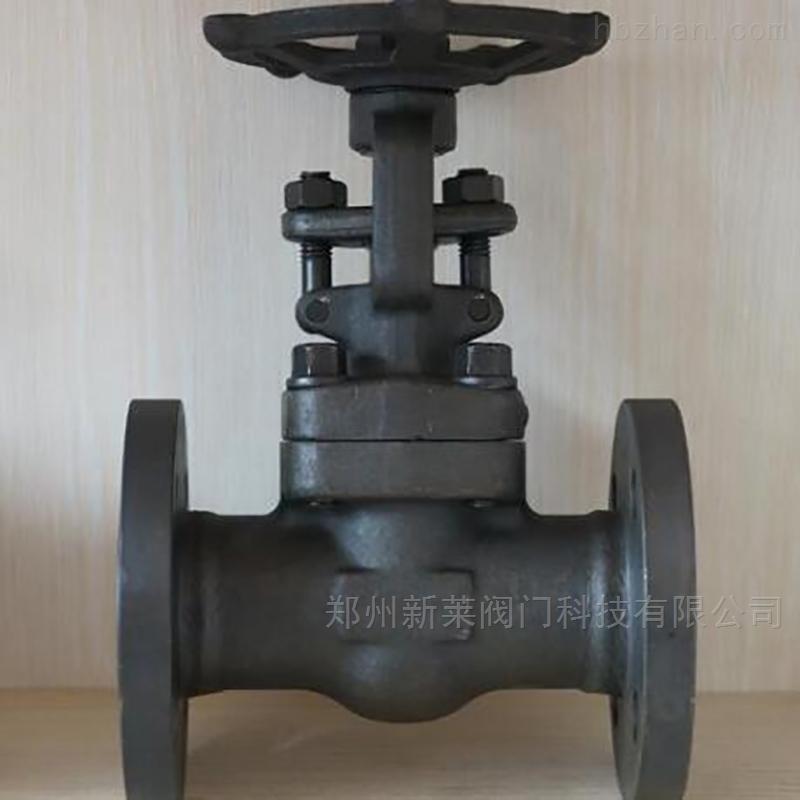 WJ41H-150LB锻钢波纹管截止阀
