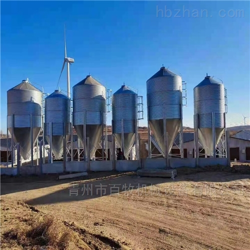 江西养殖20吨全自动料塔-镀锌板料塔厂家