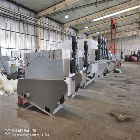 钛粉加工厂叠螺式污泥脱水机 叠螺压泥机