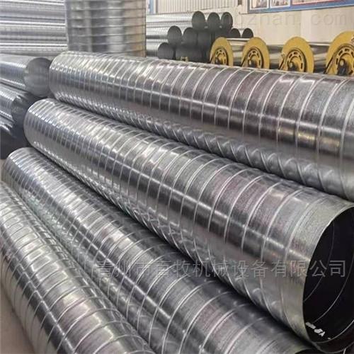 厂家定制螺旋风管-猪场铝镁锰风管