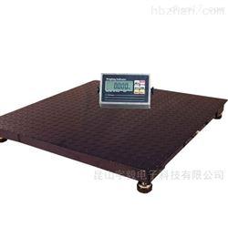 单层不锈钢电子地磅1-3吨