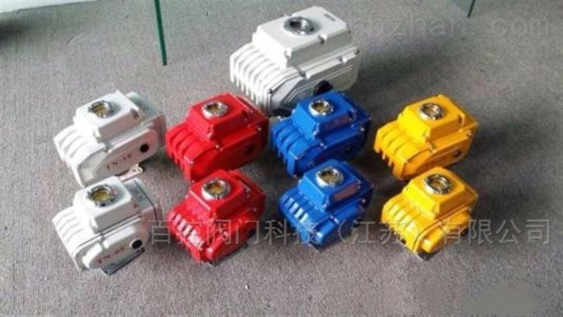 智能精小型电动执行器 阀门电动装置特点