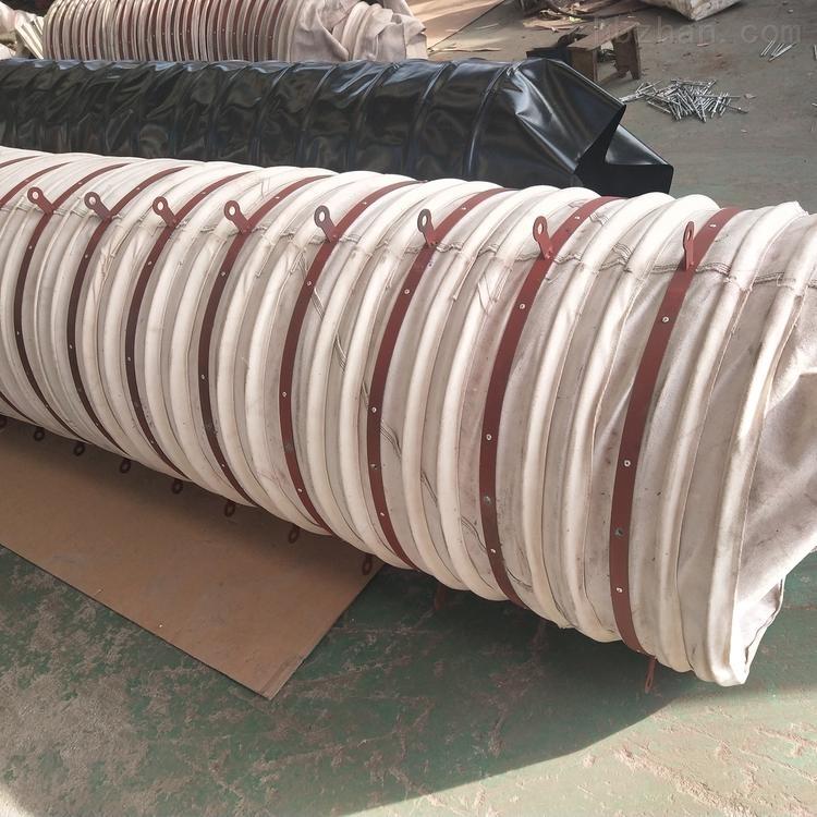 下料除尘用帆布管软连接